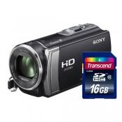 Видеокамера Sony HDR-CX190E+карта памяти 16Гб
