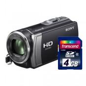 Видеокамера Sony HDR-CX190E+карта памяти 4Гб