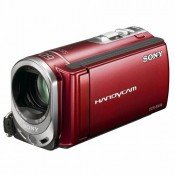 Видеокамера Sony DCR-SX44E red